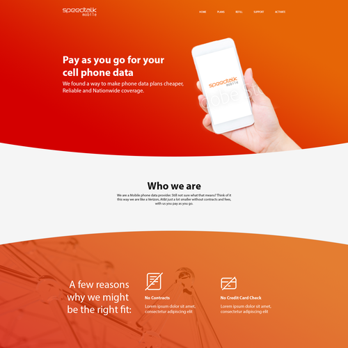 Speedtalk Website Design