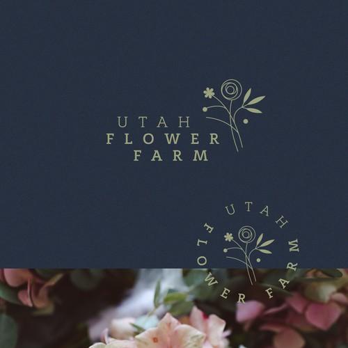 logo for flower shop