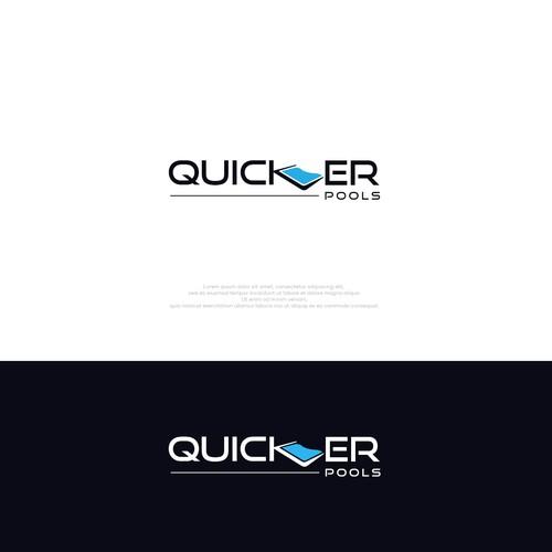 Logo Design Swimming Pool Company