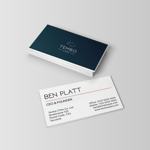 Tembo CPAs Business Card