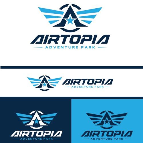 AIRTOPIA logo design