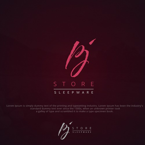 PJ Store | Online Fashion Store Logo Design