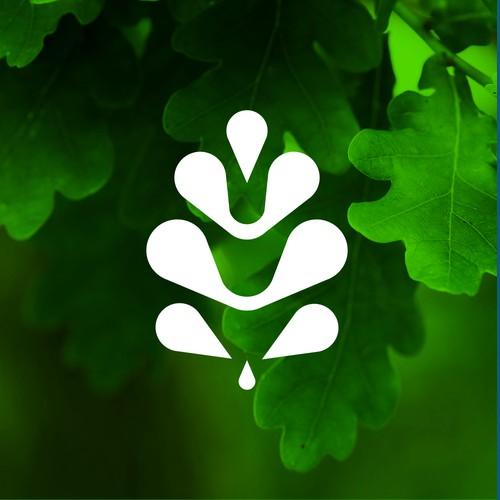 Simple design abstract logo for Oak Inn