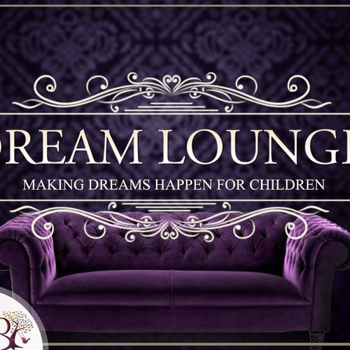 """Create trendy image for a charity, """"Lounge"""" event's FB page, inviation & all marketing materials."""