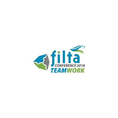 logo for filta confrence teamwork