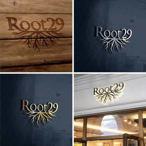 Logo design for Root 29