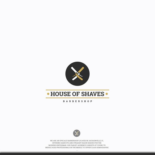 Logo design for House of Shaves