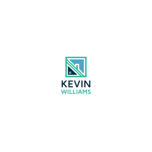 Modern logo concept for Kevin Williams real estate