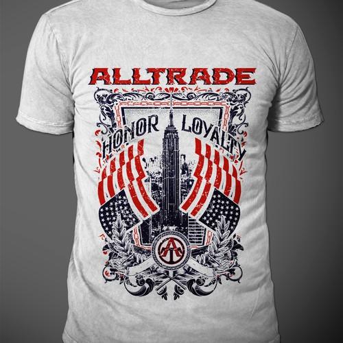 Alltrade  t-shirt design