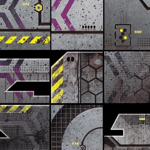 Details Showcase - Textures for Miniature Wargame Buildings and Terrain