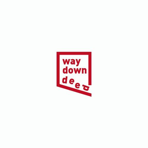 Logo concept for Way Down Deep
