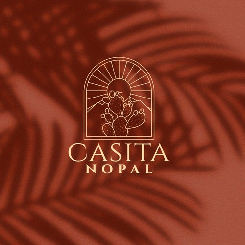 Logo design for Casita Nopal