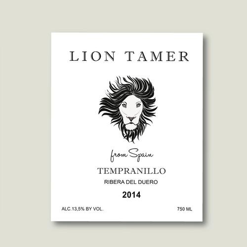 Design wine label for fun modern wine brand