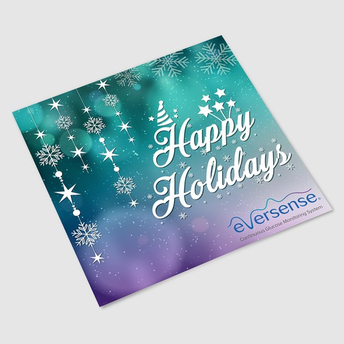 Eversense CGM Holiday Card