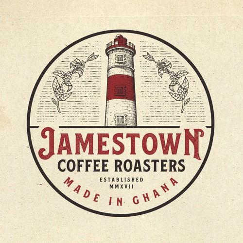 Logo Design for Jamestown Coffee Roasters