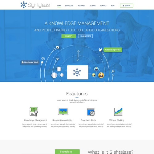 Data Analysis Site Web Design