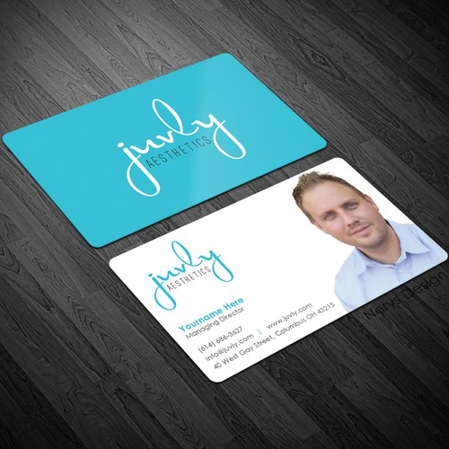 Business card for growing cosmetic dermatology company