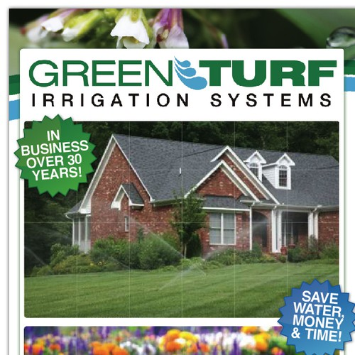 Postcard: Green Turf