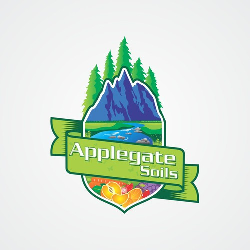 Create a logo for our Grow Shop using the beauty of the wilderness.