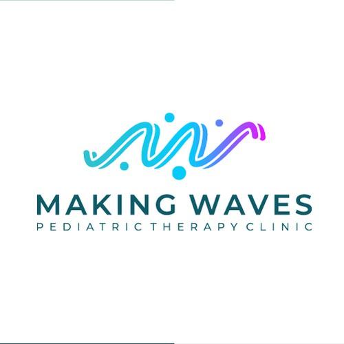 Letter M W N V A logo design concept