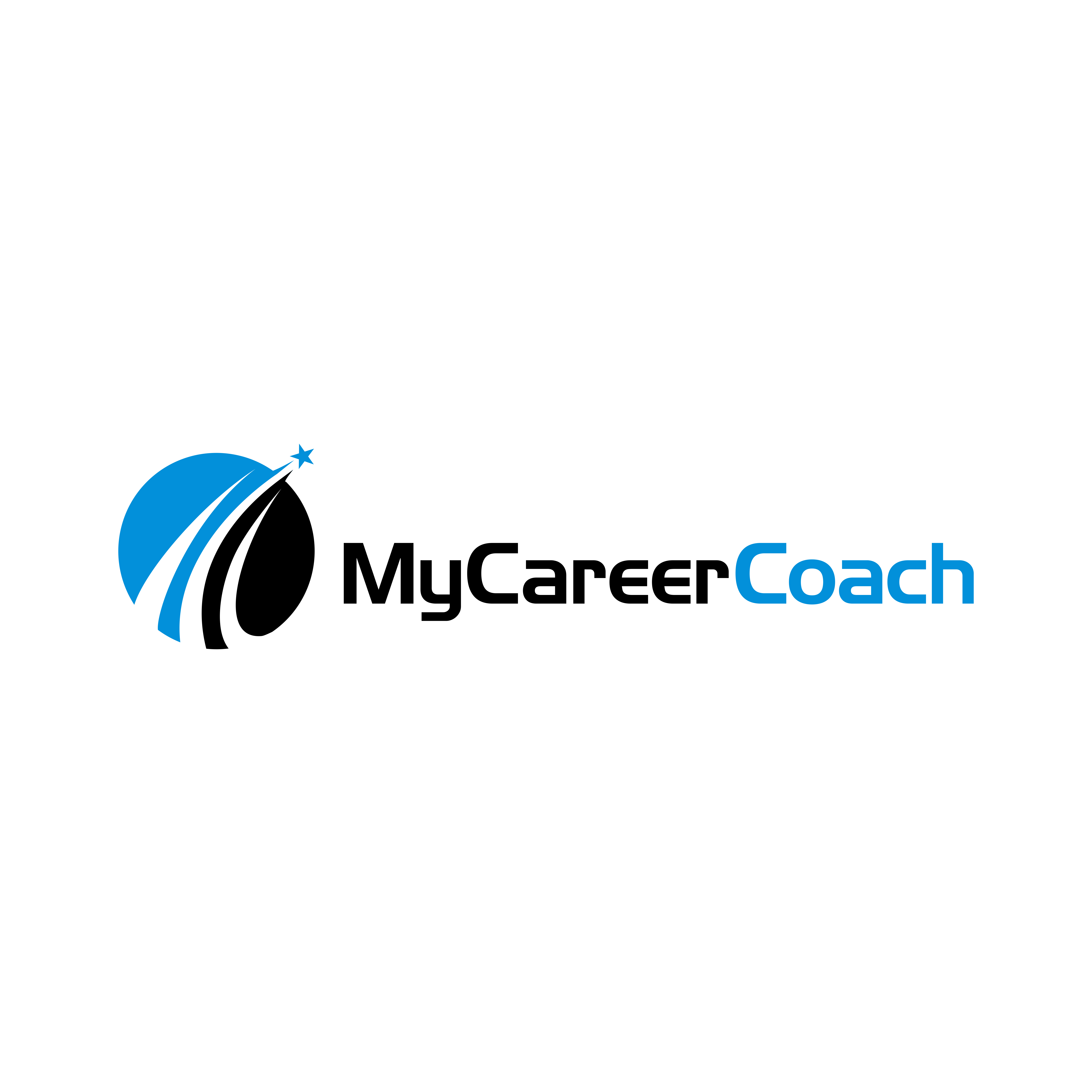 Clean, captivating and energetic logo for an online coaching platform.