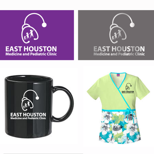 Help East Houston Medicine and Pediatric Clinic with a new logo