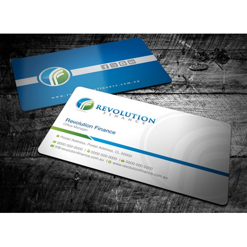 New stationery wanted for Revolution Finance