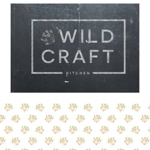 Logo design for wildcraft kitchen