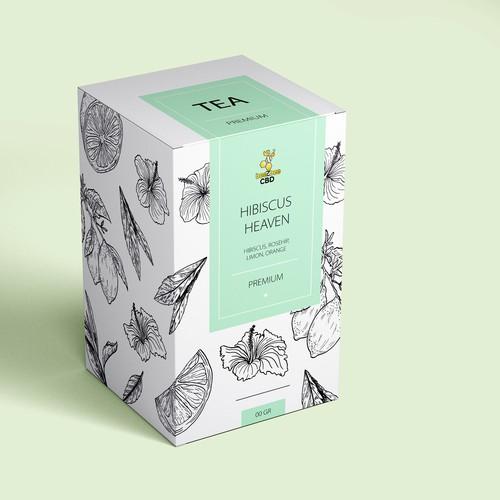 Box design for tea