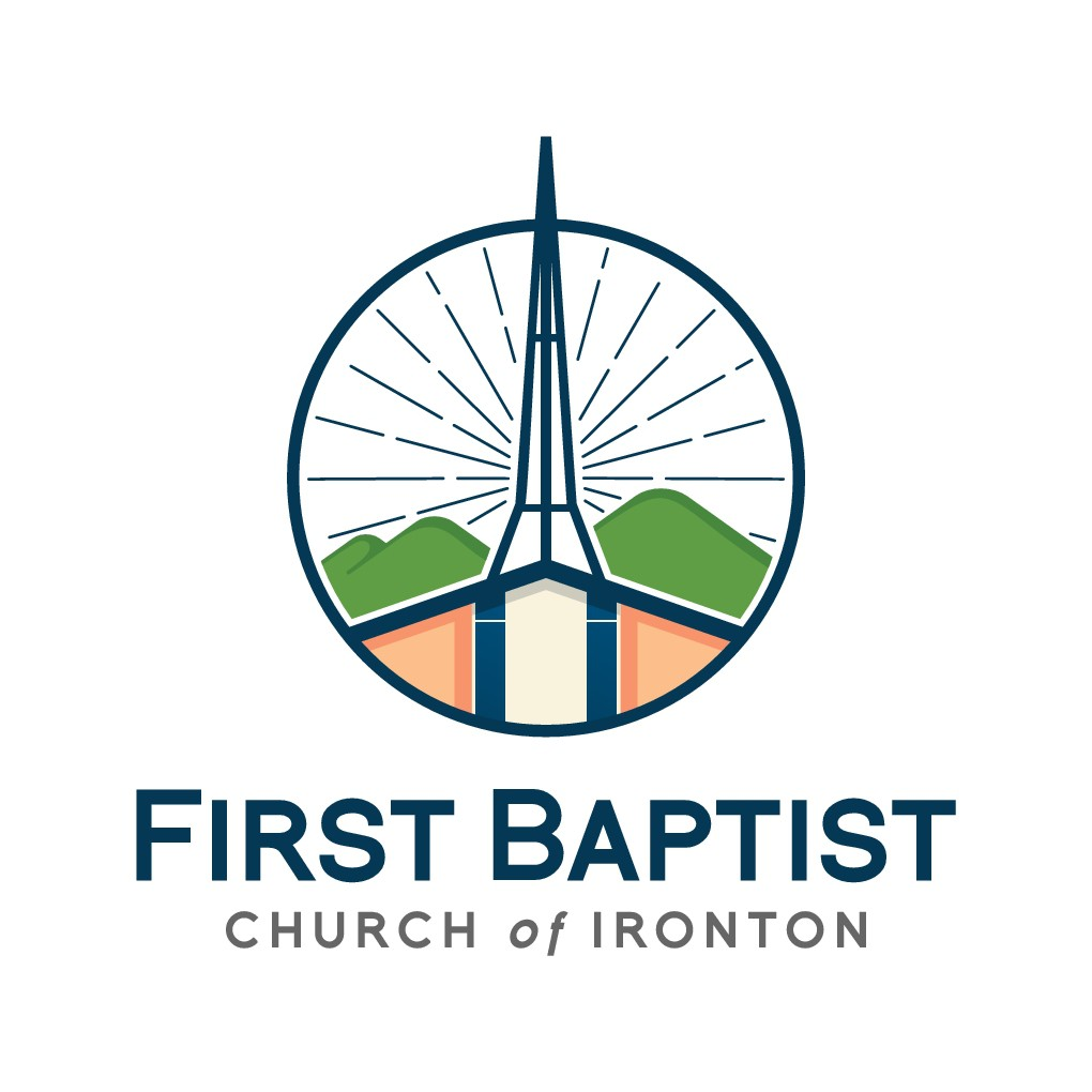 Design an artistic logo for a church in the Ozark Mountains