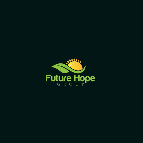Logo design concept for FutureHope group