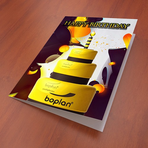BoPlan Birthday Card