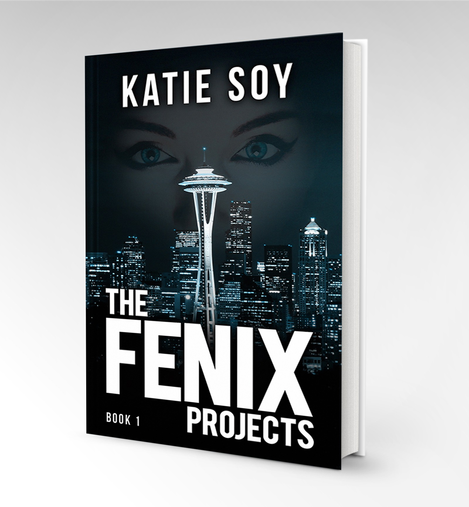 The Fenix Projects - Cover design for action thriller novel