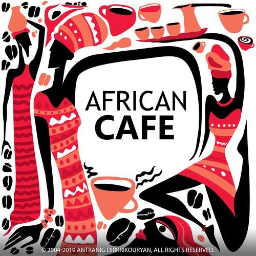 African Cafe Art