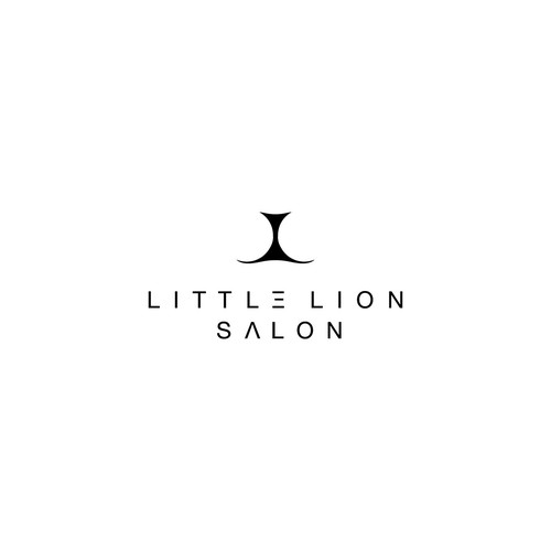 Logo concept for Little Lion Salon in Brooklyn, NYC