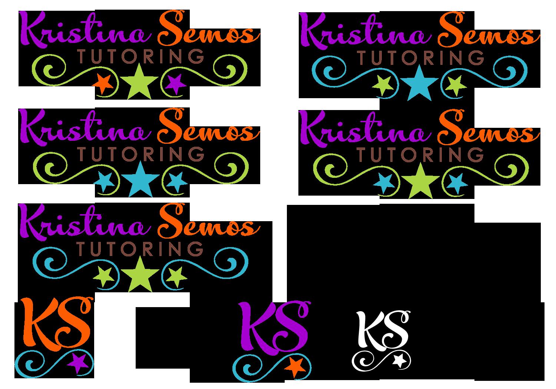 Help Kristina Semos Tutoring with a new logo