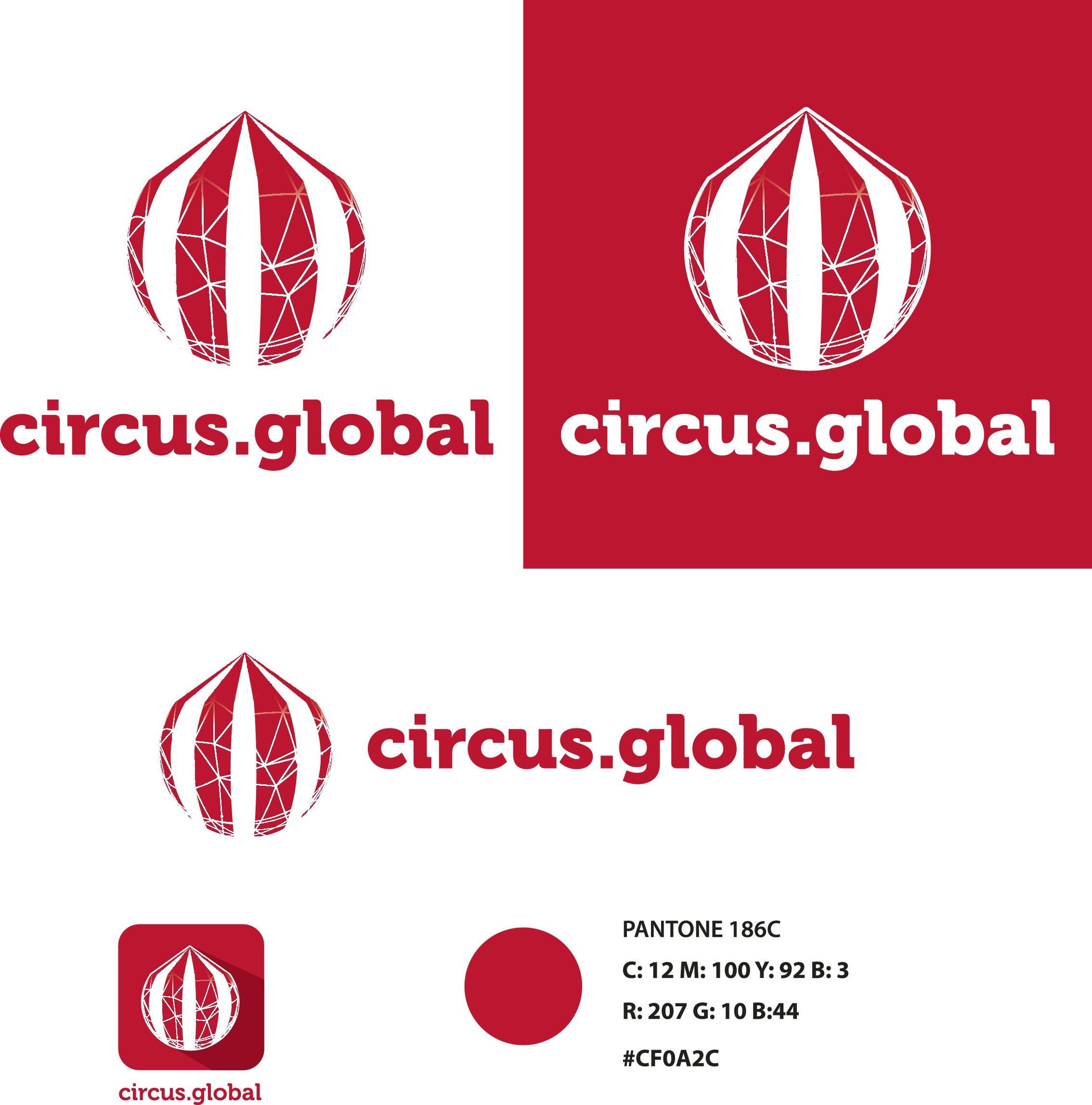 Crea el logo de la primera red social dedicada al mundo del circo
