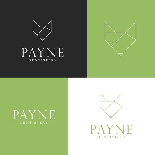 Random geometric animal logo