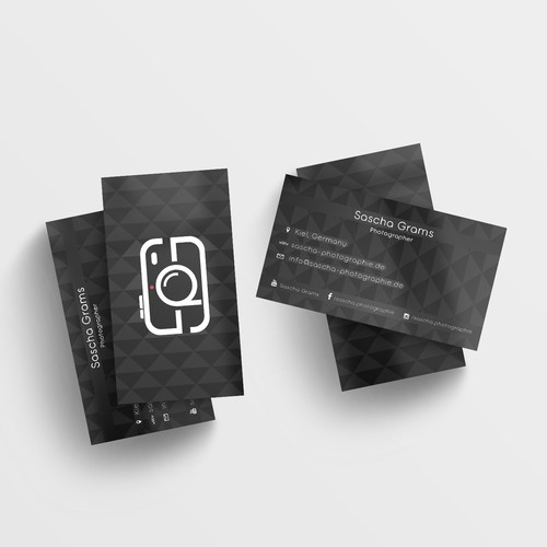 Clean but sophisticated business card