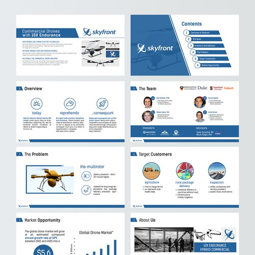 Powerpoint Deck for SkyFront
