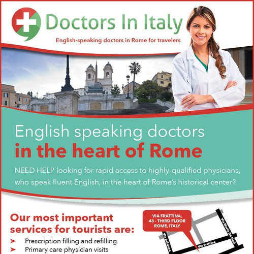 English-speaking doctors in Rome for travelers