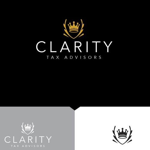 Winning logo design for tax advisor