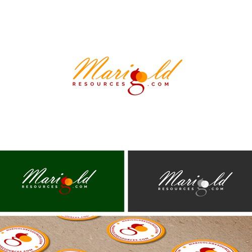 Logo Design For MariGold Resources