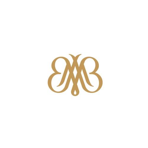 Monogram + Butterfly