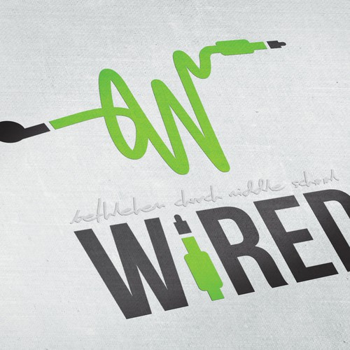 Wired: Youth Group Logo