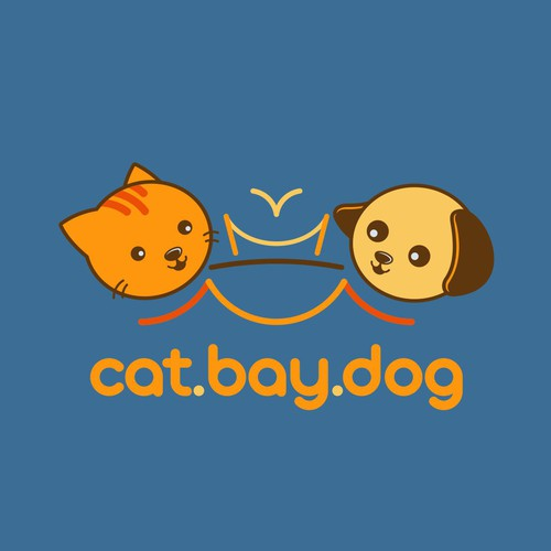 Logo Concept for Cat.Bay.Dog publishers