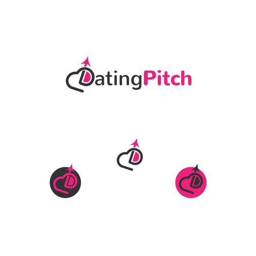 A logo for Dating APP