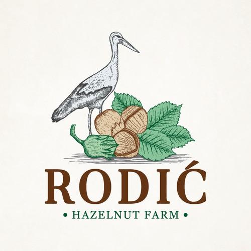 Hazelnut Farm RODIĆ is looking for elegant logo design