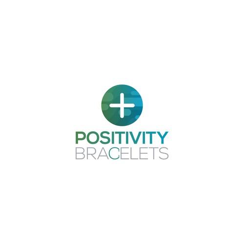 Logo Design for Positivity Bracelets