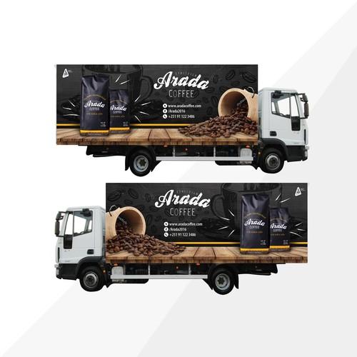 Coffee truck design